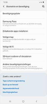 Samsung Galaxy S20 Ultra 5G Dual SIM eSIM SM-G988B - Beveiliging en ouderlijk toezicht - Hoe wijzig ik mijn SIM PIN-code - Stap 5