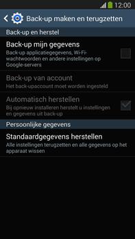 Samsung N9005 Galaxy Note III LTE - Resetten - Fabrieksinstellingen terugzetten - Stap 6
