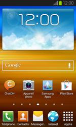 Samsung Galaxy S2 - Aller plus loin - Désactiver les données à l'étranger - Étape 1