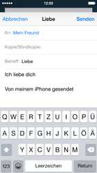 Apple iPhone 5s - E-Mail - E-Mail versenden - 8 / 16