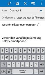 Samsung Galaxy Xcover 3 (SM-G388F) - E-mail - Hoe te versturen - Stap 10