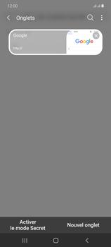 Samsung Galaxy Note20 - Internet et connexion - Naviguer sur internet - Étape 19