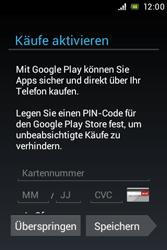 Sony Xperia Miro - Apps - Konto anlegen und einrichten - Schritt 14