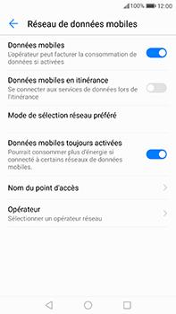 Huawei P10 Plus - Réseau - Sélection manuelle du réseau - Étape 5