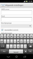 Sony C1905 Xperia M - E-mail - Handmatig instellen - Stap 14