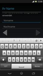Sony Xperia Z - Apps - Konto anlegen und einrichten - 5 / 17