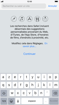 Apple iPhone 6s Plus - iOS 12 - Internet - navigation sur Internet - Étape 3