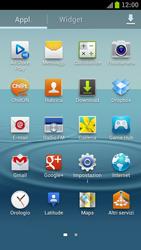 Samsung Galaxy S III LTE - Internet e roaming dati - Come verificare se la connessione dati è abilitata - Fase 3