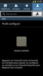 Samsung Galaxy S4 Mini - Contact, Appels, SMS/MMS - Ajouter un contact - Étape 4
