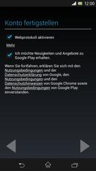 Sony Xperia Z - Apps - Einrichten des App Stores - Schritt 12