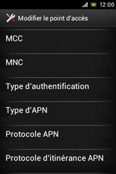 Sony ST21i Xperia Tipo - Internet - Configuration manuelle - Étape 14