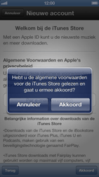 Apple iPhone 5 - Applicaties - Account instellen - Stap 7