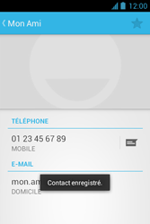 Bouygues Telecom Bs 351 - Contact, Appels, SMS/MMS - Ajouter un contact - Étape 12