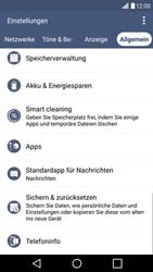 LG G4c - Fehlerbehebung - Handy zurücksetzen - 7 / 12