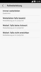 Huawei Ascend G6 - Anrufe - Rufumleitungen setzen und löschen - 6 / 9
