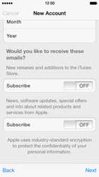 Apple iPhone 5s - Applications - setting up the application store - Step 17