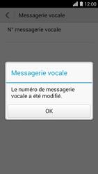 Huawei Ascend Y550 - Messagerie vocale - Configuration manuelle - Étape 8