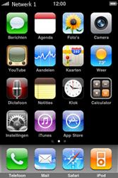 Apple iPhone 3G - Bellen - in het buitenland - Stap 6