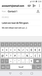 LG K11 - E-mail - Bericht met attachment versturen - Stap 11