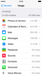 Apple iPhone 5 iOS 7 - Applications - How to uninstall an app - Step 8