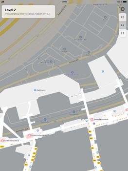 Apple iPad Air 2 - iOS 11 - Indoor-Karten (Einkaufszentren/Flughäfen) - 8 / 12