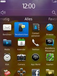 BlackBerry 9810 Torch - SMS - Handmatig instellen - Stap 3