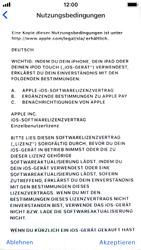 Apple iPhone SE - iOS 11 - Persönliche Einstellungen von einem alten iPhone übertragen - 18 / 29