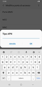 Samsung Galaxy S9 Plus - Android Pie - MMS - Configurazione manuale - Fase 12