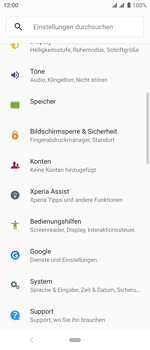 Sony Xperia 10 - Fehlerbehebung - Handy zurücksetzen - Schritt 6