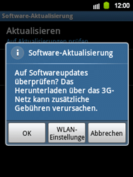 Samsung S5360 Galaxy Y - Software - Update - Schritt 15