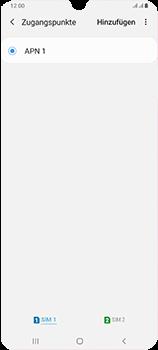 Samsung Galaxy A70 - MMS - Manuelle Konfiguration - Schritt 7