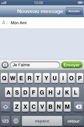 Apple iPhone 4 S iOS 6 - MMS - Envoi d