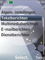 Nokia 7210 supernova - SMS - Handmatig instellen - Stap 5