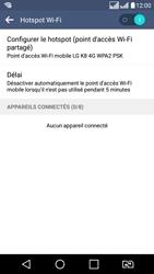 LG LG K8 - Internet et connexion - Partager votre connexion en Wi-Fi - Étape 12