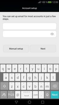Huawei Mate S - E-mail - Manual configuration POP3 with SMTP verification - Step 8