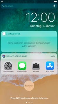 Apple iPhone 8 Plus - iOS 11 - Sperrbildschirm und Benachrichtigungen - 4 / 10