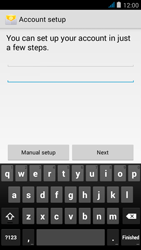 Wiko jimmy - E-mail - manual configuration - Step 6
