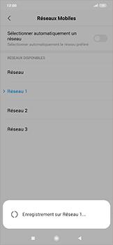 Xiaomi RedMi Note 7 - Réseau - Sélection manuelle du réseau - Étape 12