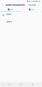 Samsung Galaxy A7 (2018) - MMS - handmatig instellen - Stap 17