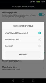 Huawei Mate S - Netwerk - Wijzig netwerkmodus - Stap 6