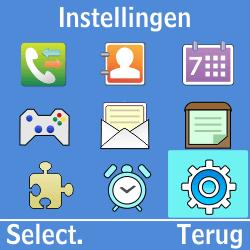 Samsung GT-E1200i - Buitenland - Bellen, sms en internet - Stap 3