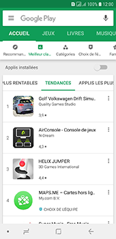 Samsung Galaxy A6 - Applications - Télécharger une application - Étape 8