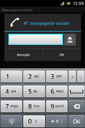 Sony ST21i Xperia Tipo - Messagerie vocale - Configuration manuelle - Étape 7