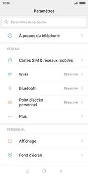 Xiaomi Redmi 5 - Internet - Configuration manuelle - Étape 3