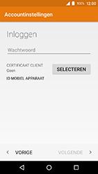 Crosscall Action X3 - E-mail - e-mail instellen (outlook) - Stap 10