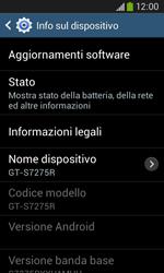 Samsung Galaxy Ace III - Software - Installazione degli aggiornamenti software - Fase 7