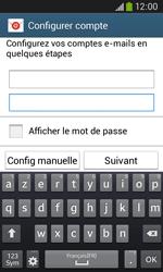Samsung Galaxy Ace III - E-mail - configuration manuelle - Étape 6