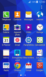 Samsung G357 Galaxy Ace 4 - Messagerie vocale - Configuration manuelle - Étape 3