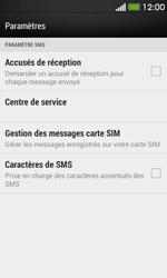 HTC Desire 500 - SMS - Configuration manuelle - Étape 6