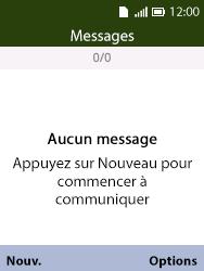 Alcatel 3088X - Contact, Appels, SMS/MMS - Envoyer un SMS - Étape 4